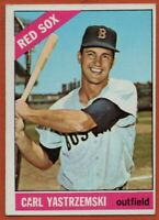 1966 Topps #70 Carl Yastrzemski EX-EX+ Wrinkle Boston Red Sox FREE SHIPPING