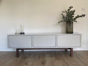 Ikea Stockholm TV Bench / Sideboard Grey/Beige excellent condition