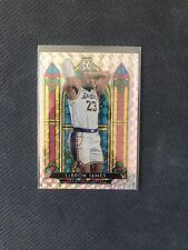 Lebron James Stained Glass Mosaic 2019 Panini Mosaic Prizm Los Angeles Lakers