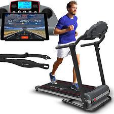 Sportstech F10 Laufband mit Fitness App Steuerung 1 PS DC 10 KM/H klappbar