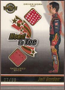 2006 American Thunder JEFF GORDON Head To Toe HAT + SHOE HT14; Ser# 7/99 WOW!