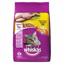 Whiskas Adult (+1 year) Dry Cat Food, Chicken Flavour, 1.2kg Pack
