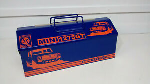 classic mini 1275gt barn / tote metal toolbox  freep&p recreation orange