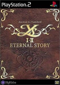Ys I ¥ II Eternal Story PS2 DigiCube Sony Playstation 2 From Japan