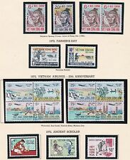 VIETNAM MNH COLLECTION / LOT OF 16 COMPLETE SETS 1952-1975
