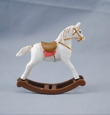 Toy Rocking Horse 1.759/0  Reutter ceramic miniature dollhouse 1/12 scale Hobby