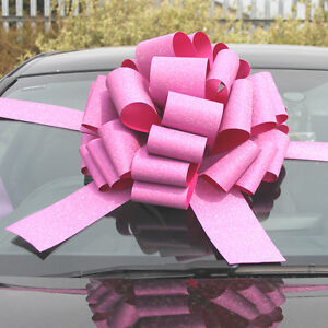 BIG CAR BOW - Mega Giant Extra Large Bow for Cars, Birthday Presents, XMAS Gifts