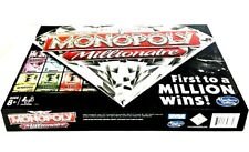 """Monopoly Millionaire """"The Fast-Dealing Property Trading"""" Board Game NEW IN BOX"""