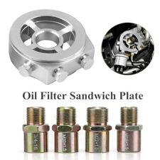 Car Oil Cooler Filter sandwich plate Adapter AN10 M20x1.5/M22/1.5/M18x1.5/3/4-16