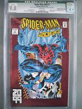 Spider-Man 2099 #1 Manufacturing Error CGC 9.8 WP 1992 Origin Miguel O'Hara RARE