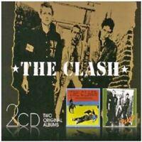 THE CLASH - THE CLASH/GIVE 'EM ENOUGH ROPE 2 CD 25 TRACKS PUNK ROCK NEU