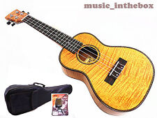 "WOODNOTE / Special  24"" Concert Okoume with Tiger Flamed Mahogany Ukulele"