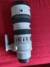 Nikon ED AFS VR NiKkor 70-200 F 2.8 Limited Edition  RARE! Tropical Grey