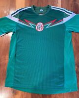 Mexico Soccer Team Jersey Shirt Green Mens Size Adult Large