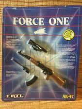Ertl Force One AK-47 machine gun die cast metal vintage 80's 90's toy