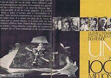 COUPURE DE PRESSE CLIPPING 1961 Le Livre Cathédrale le + cher du monde (8 pages)