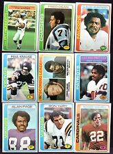 1978 Topps Football Finish Your Set Pick 30 Vending Lot