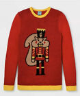 Women's Nutcracker Ugly Christmas Sweater Holiday Sweater Red Size XXL 2XL NWT