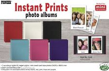 Pioneer IS40 Photo Album f/Instant Prints Leatherette Cover Brand New Red