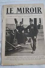 GUERRE 14 18-WW 1-LE MIROIR N°40 ARMEE BELGE MOULAND ANVERS SAINT BLAISE DRINA