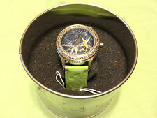 "Collectible Tinkerbell ""Night is as bright as the day""watch,NOS w/tin nice, C171"