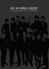 2011 YG FAMILY Concert Live: 15th Anniversary (2CD+Photobook)