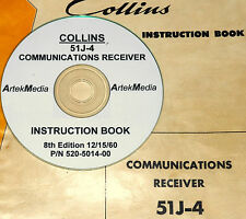COLLINS 51J-4 RECEIVER  OPERATING & SERVICE MANUAL