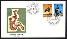 LUSSEMBURGO 1974 FDC Europa CEPT
