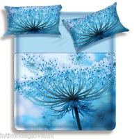 Lenzuola Matrimoniale Biancaluna Miss Terry Kotton Completo letto puro cotone