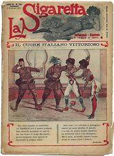 SATIRA-UMORISMO_La Sigaretta_Anno VII - N.289_Ed. Nerbini, 1912* vedi >>>