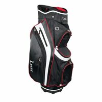 "Lynx Black Cat 9.5"" Deluxed Cart Bag Black/Red Brand New Boxed 60% Off Sale"