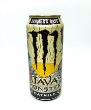 🔥New! Monster Energy Java Farmers Oats Oat Milk 1 Full Can