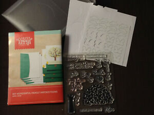Paper Pumpkin by Stampin' Up! My Wonderful Family stamp set