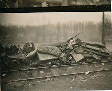 LAGNY 1933 -  Catastrophe Ferroviaire Accident Train - PP 166