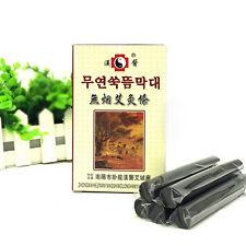 5pcs/box Black Traditional Smokeless Moxa Stick Roll  14*110mm Moxibustion Best