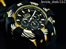 Invicta Men's 48mm Bolt Sport Chronograph Carbon Fiber DL Silver Ropes SS Watch
