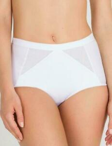 PLAYTEX culotte ventre plat taille 42 Perfect Silhouette white brief size M