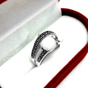 Handmade Authentic Ring Jewelry Made of Sterling Silver