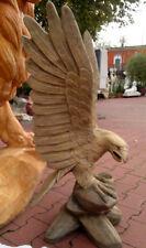 "Gartenfigur, ""Adler auf Felsen"" 90 cm, Steinguss, Vögel, Tierfiguren, Gartendeko"