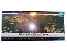 New Water Lilies Claude Monet 750 Piece Panoramic Jigsaw Puzzle Buffalo Games