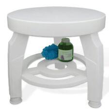 Round Swiveling Swivel Shower Bath Stool Seat Chair Bathtub Tub