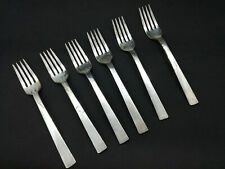 Vintage 6x PanAm Pan American Airlines Forks - International Silver Co.