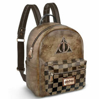 MOCHILA BOLSO HARRY POTTER DEATHLY HALLOWS 25cm - Harry Potter Bag Backpack 25cm