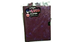 Smiggle Colour Change Lockable Notebook - New With Unicorn & Dolphin Backdrop