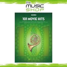 New 101 Movie Hits for Horn Music Book - Instrumental Solo Songbook