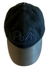 LIMITED EDITION Ralph Lauren Polo Logo Wool Leather Baseball Hat Ball Golf Cap