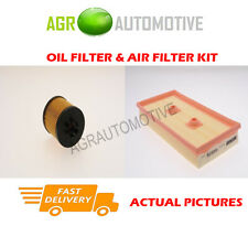 PETROL SERVICE KIT OIL AIR FILTER FOR AUDI A3 SPORTBACK 1.6 116 BHP 2004-07