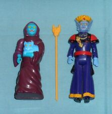 vintage PANOSH PLACE VOLTRON HAGGAR THE WITCH + KING ZARKON lot