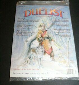 The Duelist Magazine #5 Magic The Gathering MTG Ice Age w/ Rage Promo Card 1995