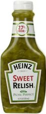 Heinz Sweet Relish 375ml 12FL OZ Squeezy Bottle Picnic perfect